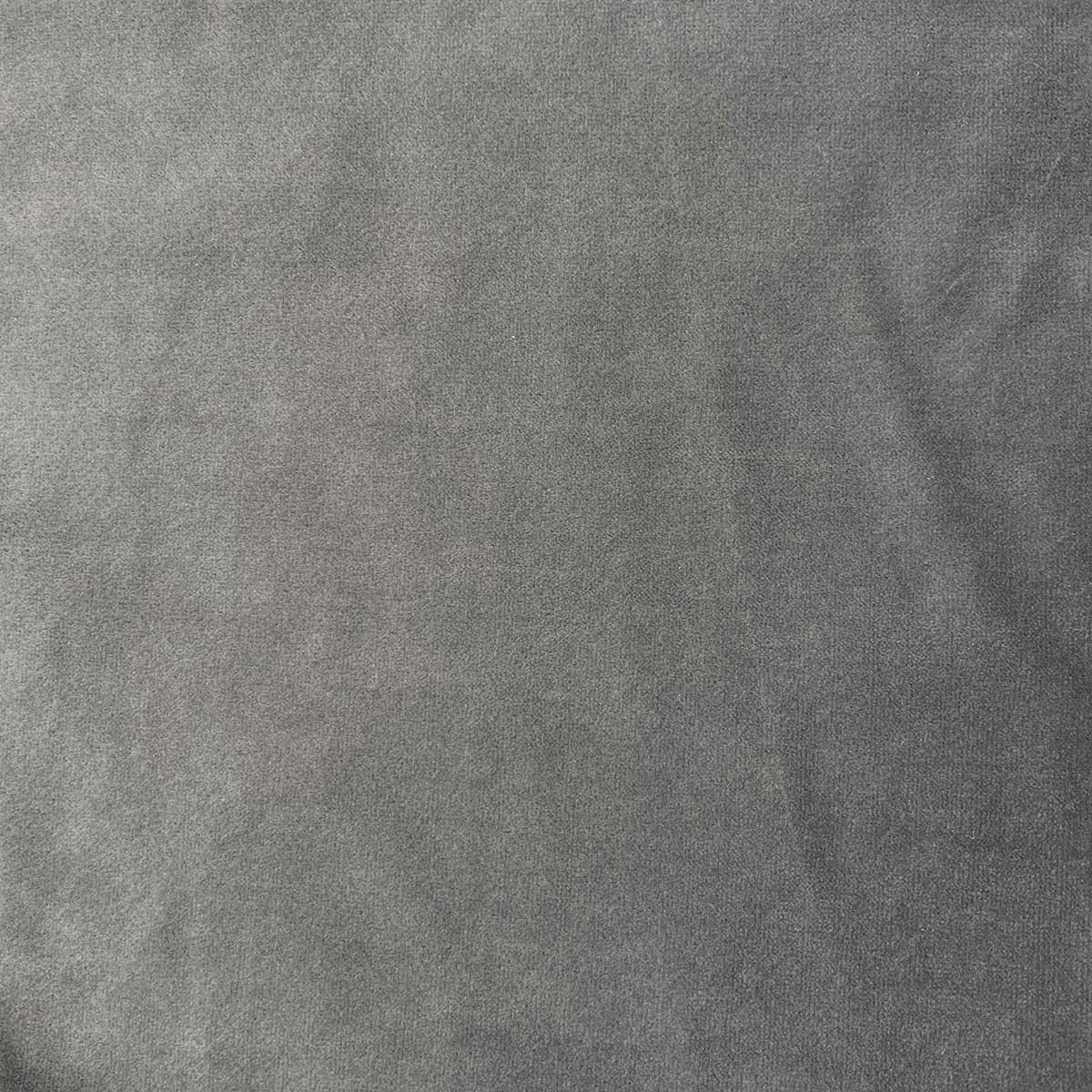 Tissu d'ameublement en velours uni - Gris Perle - 1.45 m