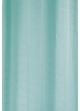 Paire de voilage fileté à fines rayures verticales  Turquoise
