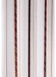 Paire de voilage à rayures verticales design  Bordeaux