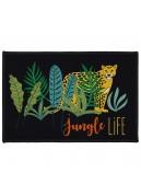Tapis déco imprimé jungle