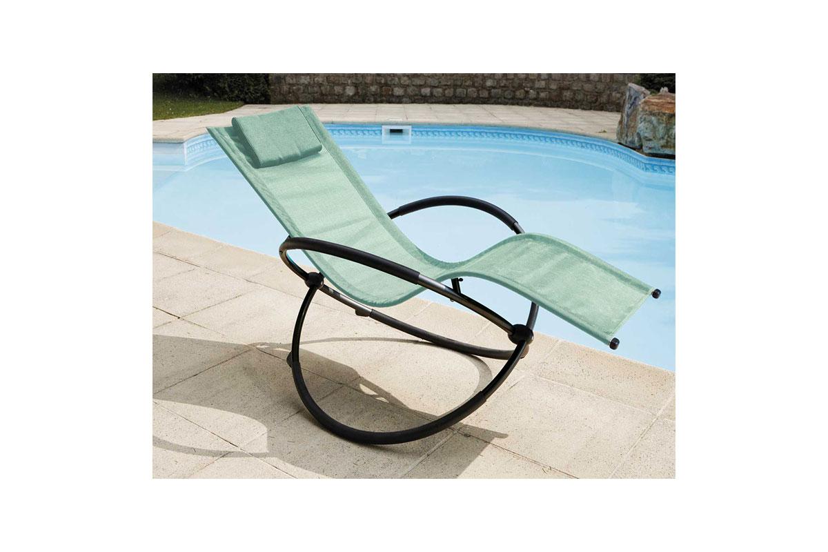 bain de soleil bascule menthe noir rouge. Black Bedroom Furniture Sets. Home Design Ideas