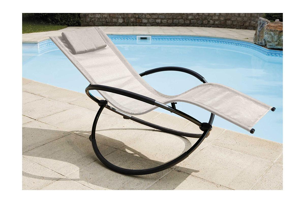 bain de soleil bascule ecru menthe noir rouge homemaison vente en ligne salons. Black Bedroom Furniture Sets. Home Design Ideas