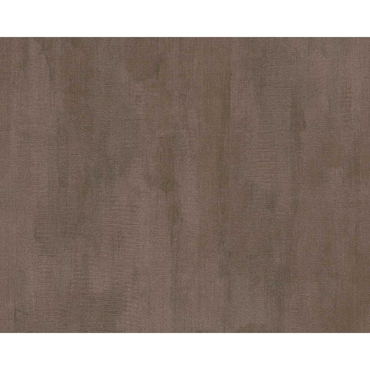 Papier peint uni effet marbré et délavé - Brun - 10 ml x 0,53 m