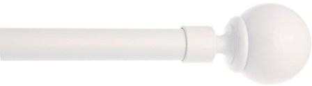 Kit Tringle complet Boule ext 120-210cm (Taupe)