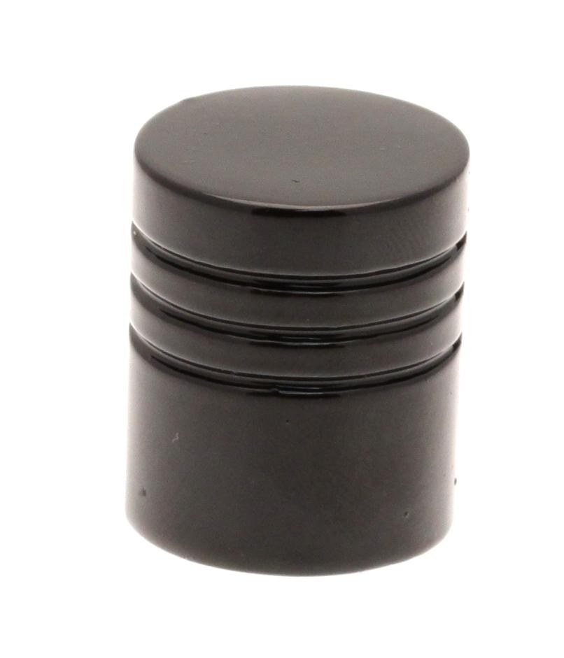 Paire d'Embouts Teil pour barre ø16mm (Noir)