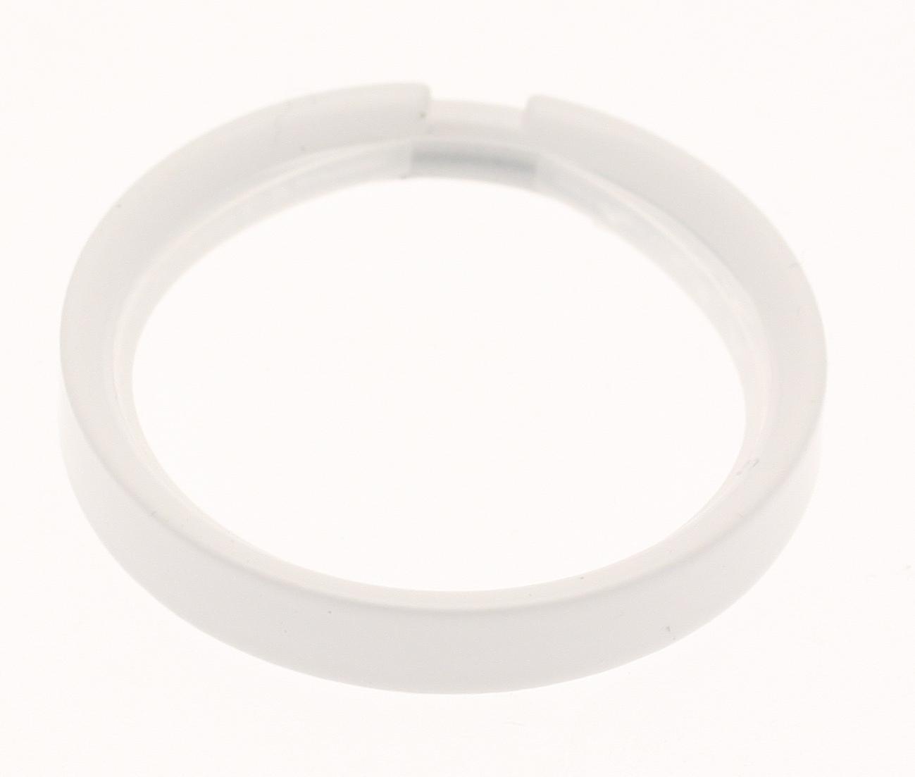 10 Anneaux pour barre ø 20mm - Blanc - 20 mm
