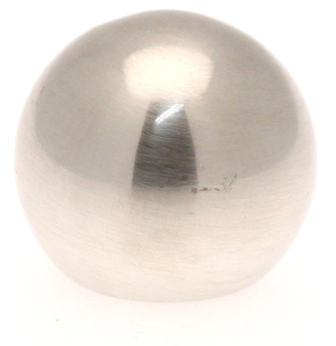 Ansatzstück Kreisförmig für Gardinenstangen ø 20mm (Chrom Matt)