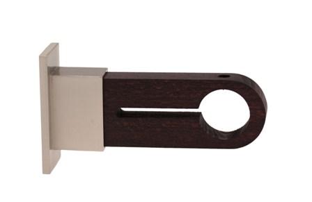 Support Moyen Bois/Métal diamètre 28 mm (WENGE)