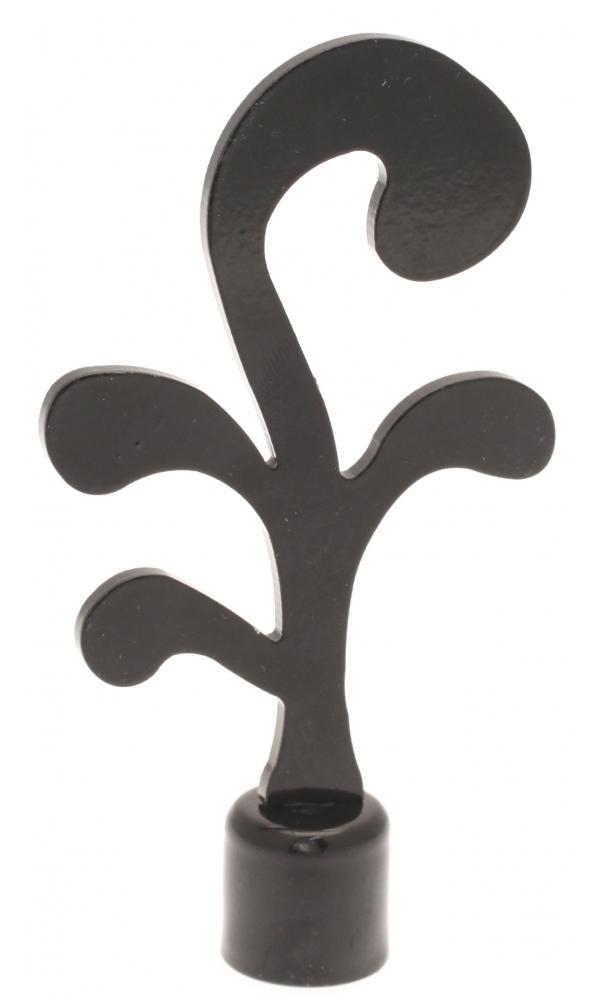 Embout Riké pour barre de ø 16mm (Noir)