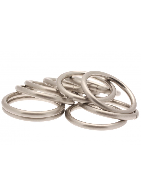 10 ringe f r gardienstangen 16 mm chrom matt homemaison vente en ligne gardinenringe. Black Bedroom Furniture Sets. Home Design Ideas