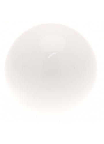 Par topes Bola para barra de cortina de ø 20mm (Blanco)