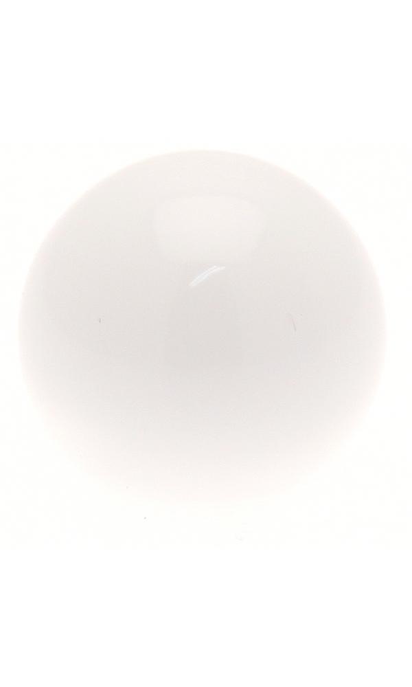 Paire Embouts Boule pour barre ø 20mm (Blanc)