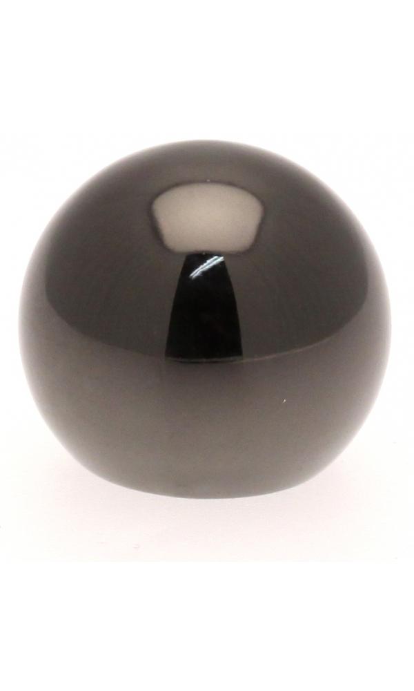 Paire Embouts Boule pour barre ø 20mm (Nickel Noir)