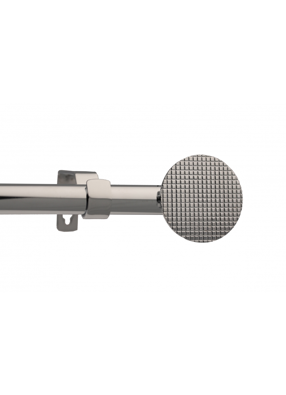 Kit tringle complet bling 160-300cm (Chrome brillant)