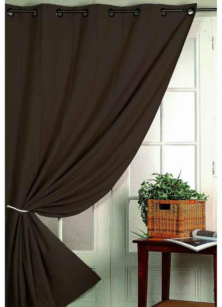 rideau isolant thermique chocolat p trole perle noir rouge taupe lin gris. Black Bedroom Furniture Sets. Home Design Ideas