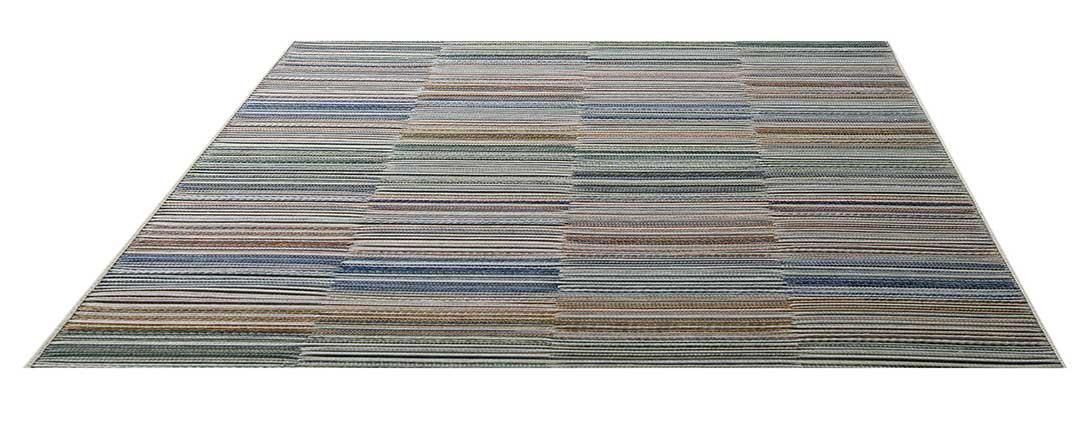 Tapis Intérieur/Extérieur Effet Tressé - Jardin - 240 x 330 cm