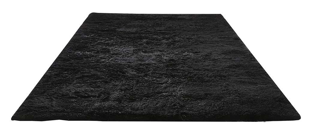 Tapis à Effet Fourrure - Noir - 200 x 300 cm