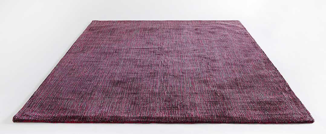 Tapis en Viscose avec Effet Chiné - Fuchsia - 200 x 300 cm