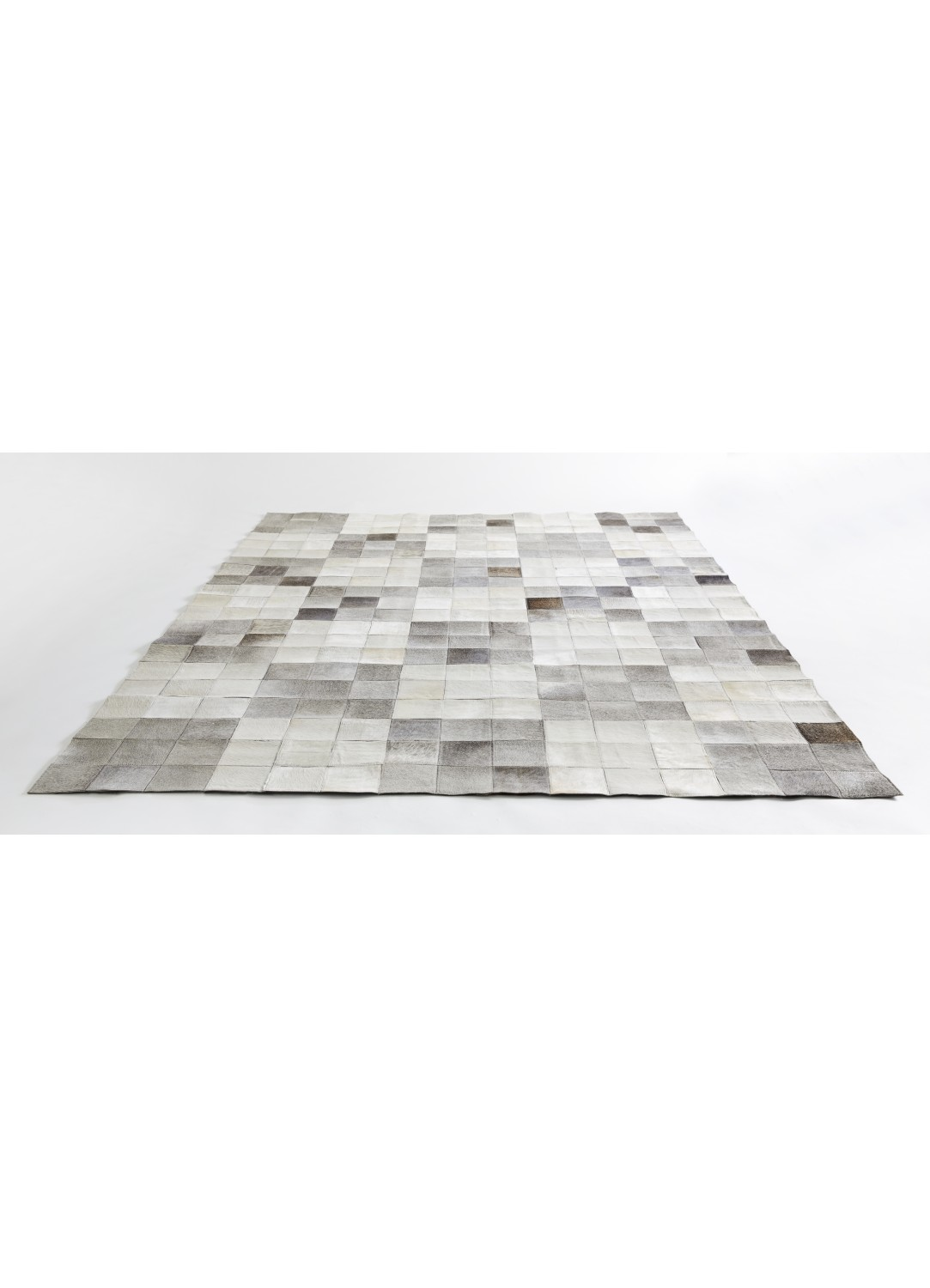 tapis patchwork effet damier gris homemaison vente en ligne tapis d co. Black Bedroom Furniture Sets. Home Design Ideas