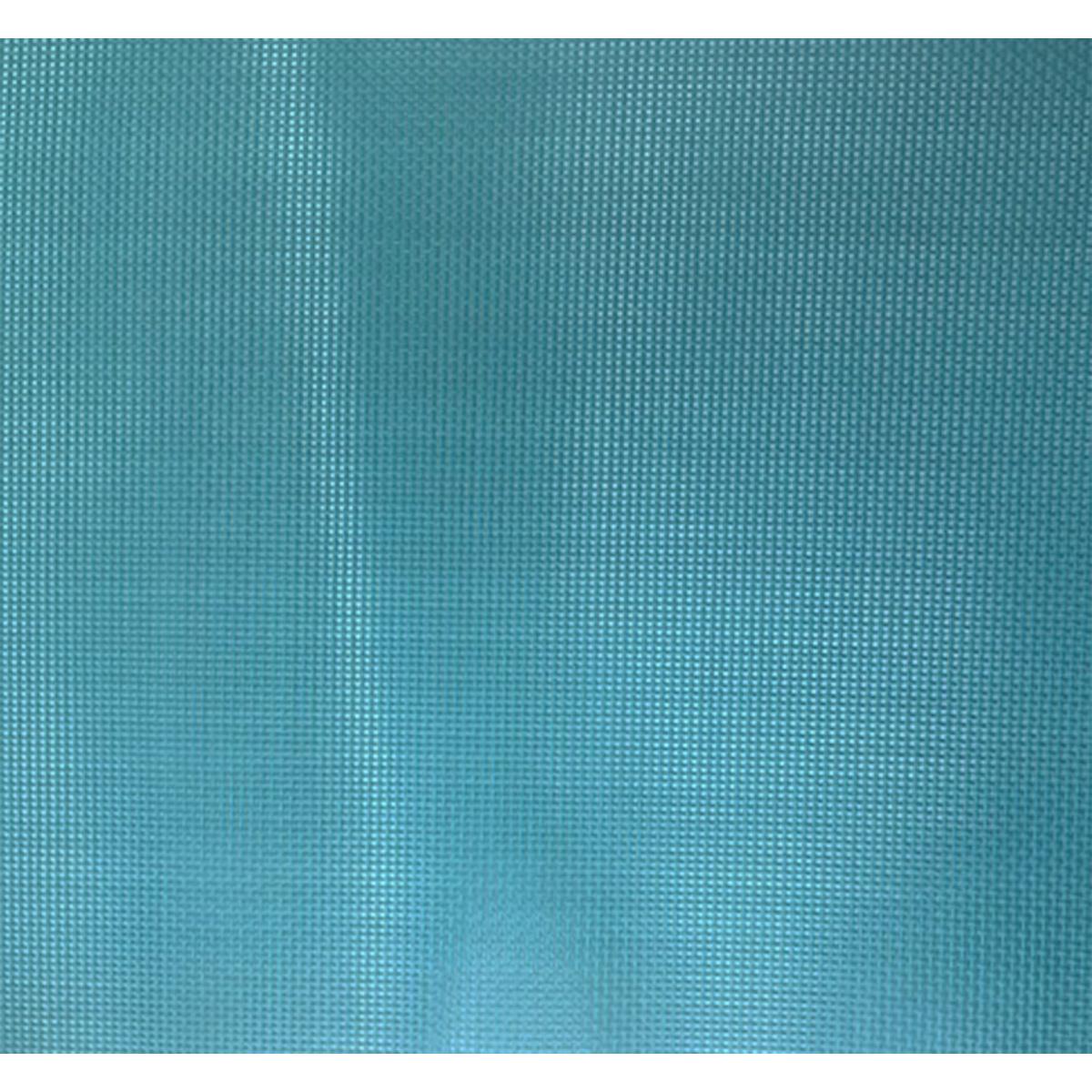 Toile au mètre pour mobilier extérieur - Bleu Paon - 1.4 m