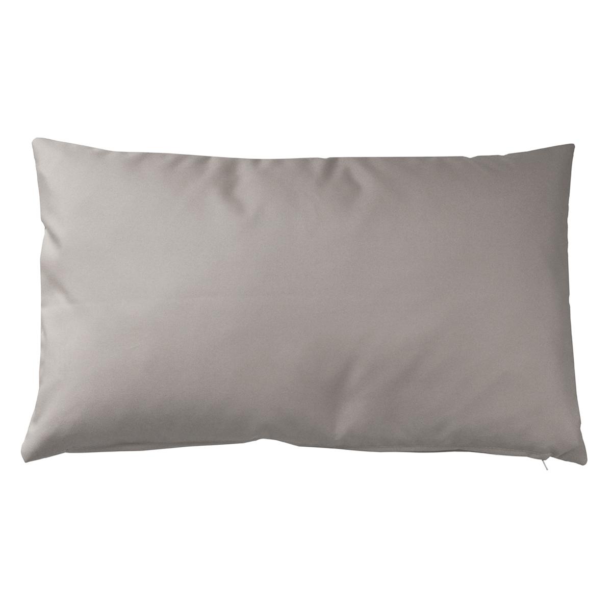 Housse de coussin d'extérieur en tissu outdoor - Lin - 30 x 50 cm