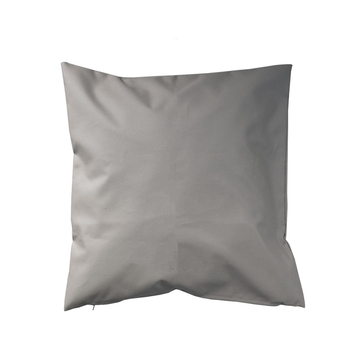 Housse de coussin d'extérieur en tissu outdoor - Lin - 45 x 45cm