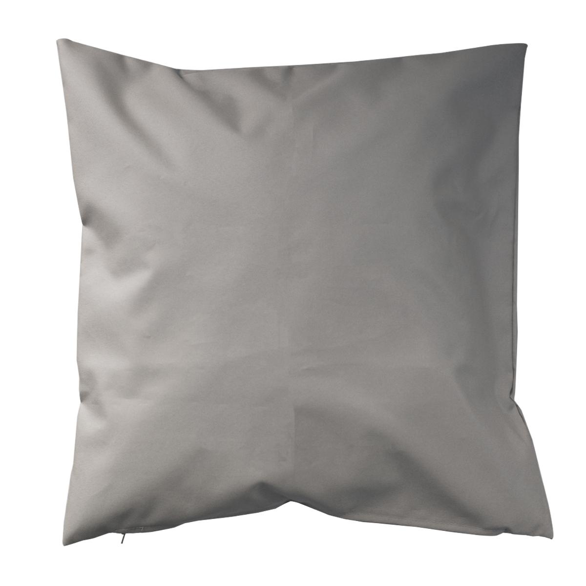 Housse de coussin d'extérieur en tissu outdoor - Lin - 60 x 60cm