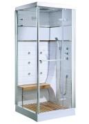 Cabine de douche Osaka avec porte pivotante