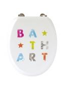 ABATTANT BATH ART