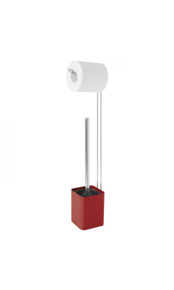 Accessoires wc rouges homebain vente accessoires wc for Accessoires wc
