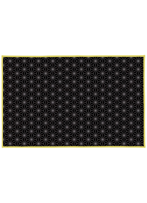 tapis de bain en coton spirit noir homebain vente en. Black Bedroom Furniture Sets. Home Design Ideas