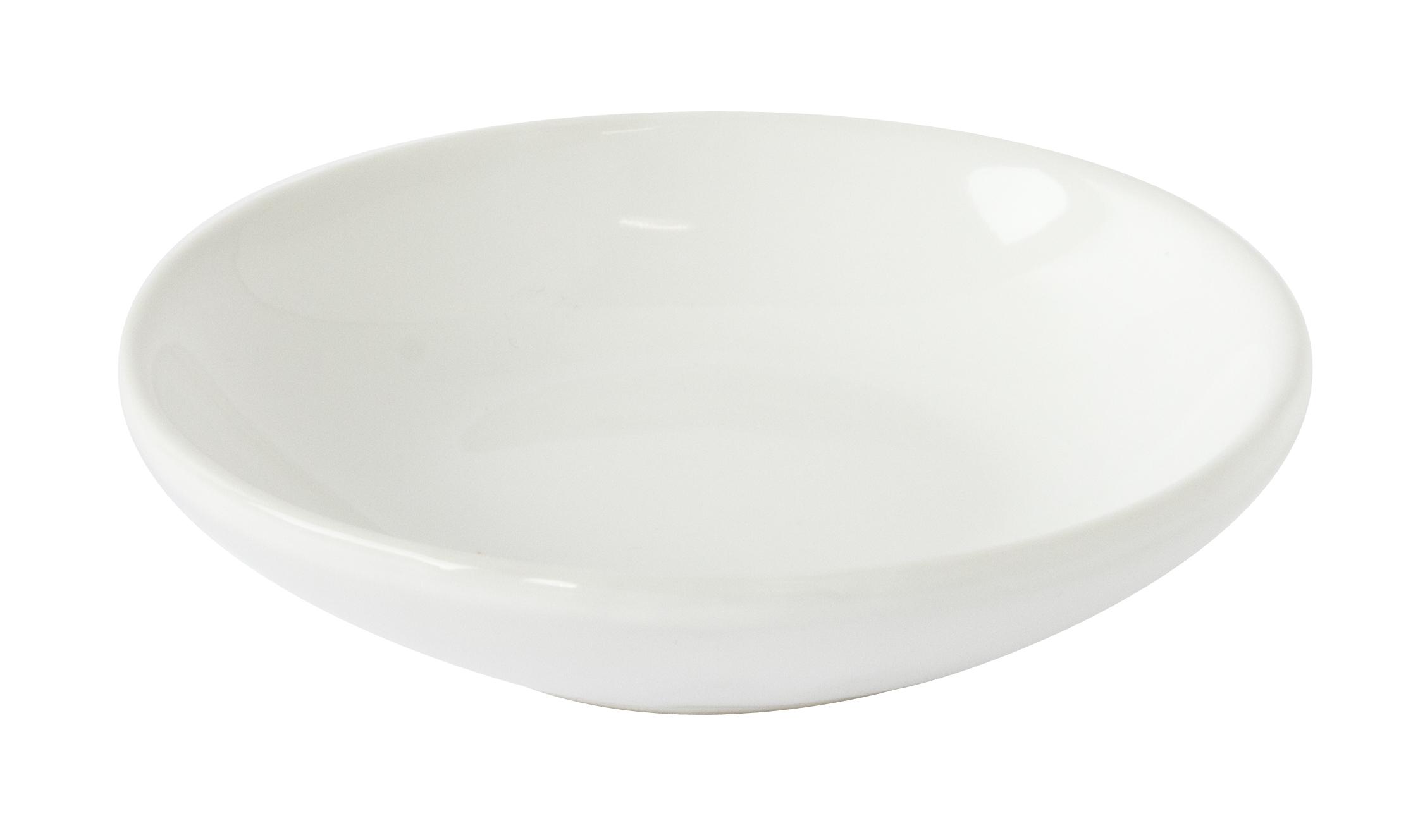 Porte savon en ceramique ovale blanc homebain vente for Porte savon douche ceramique