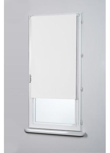 Store enrouleur occultant - Blanc - 55 x 170 cm