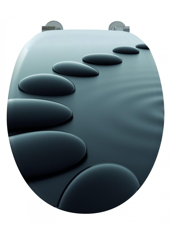 abattant wc infini zen noir homebain vente en ligne. Black Bedroom Furniture Sets. Home Design Ideas