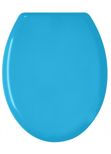 Abattant WC 'Color' Bleu Uni