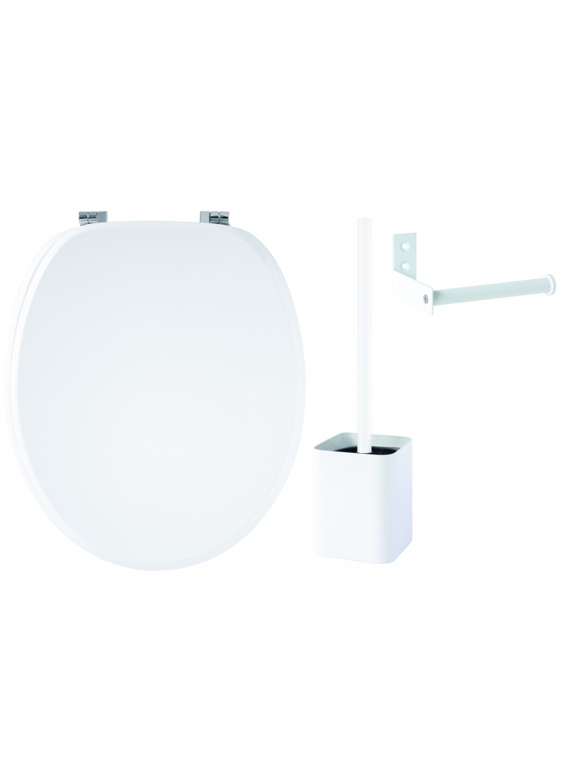 accessoires wc noir et blanc 132233 ontwerp inspiratie voor de badkamer en de. Black Bedroom Furniture Sets. Home Design Ideas