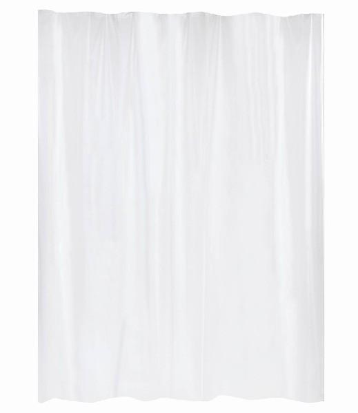 rideau de douche blanc peva blanc homebain vente en ligne rideaux de douche. Black Bedroom Furniture Sets. Home Design Ideas