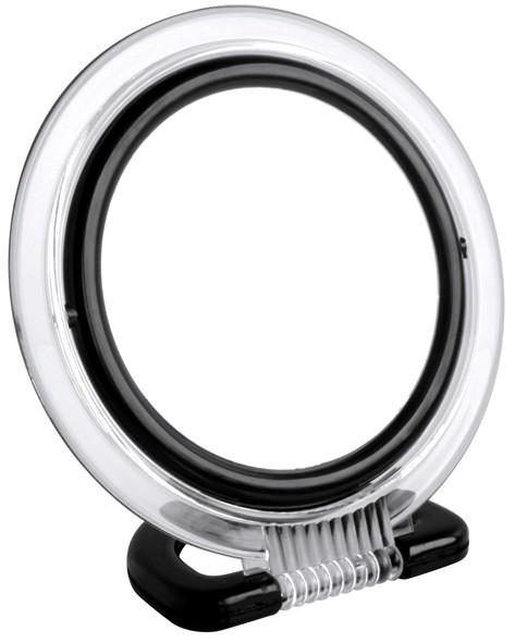 miroir rond noir noir homebain vente en ligne accessoires salle de bain. Black Bedroom Furniture Sets. Home Design Ideas