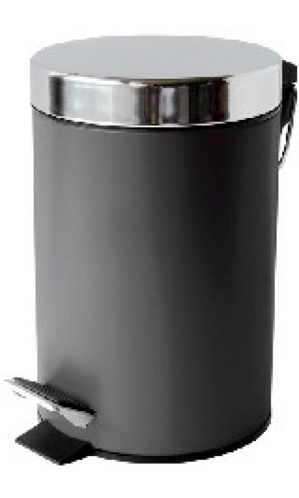 Poubelle Satin Carbone 3 Litres