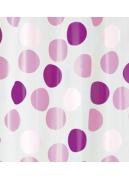Rideau de douche  Rose confetti