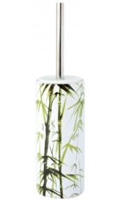 Pot à Balai Exotic Blanc/Vert