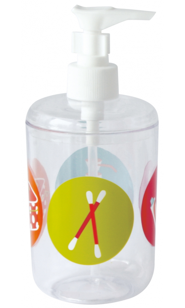 Distributeur de savon motifs accessoires de bain multi for Distributeur de savon salle de bain
