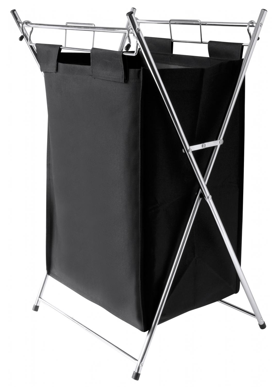 panier linge metal black noir homemaison vente en ligne paniers linge. Black Bedroom Furniture Sets. Home Design Ideas