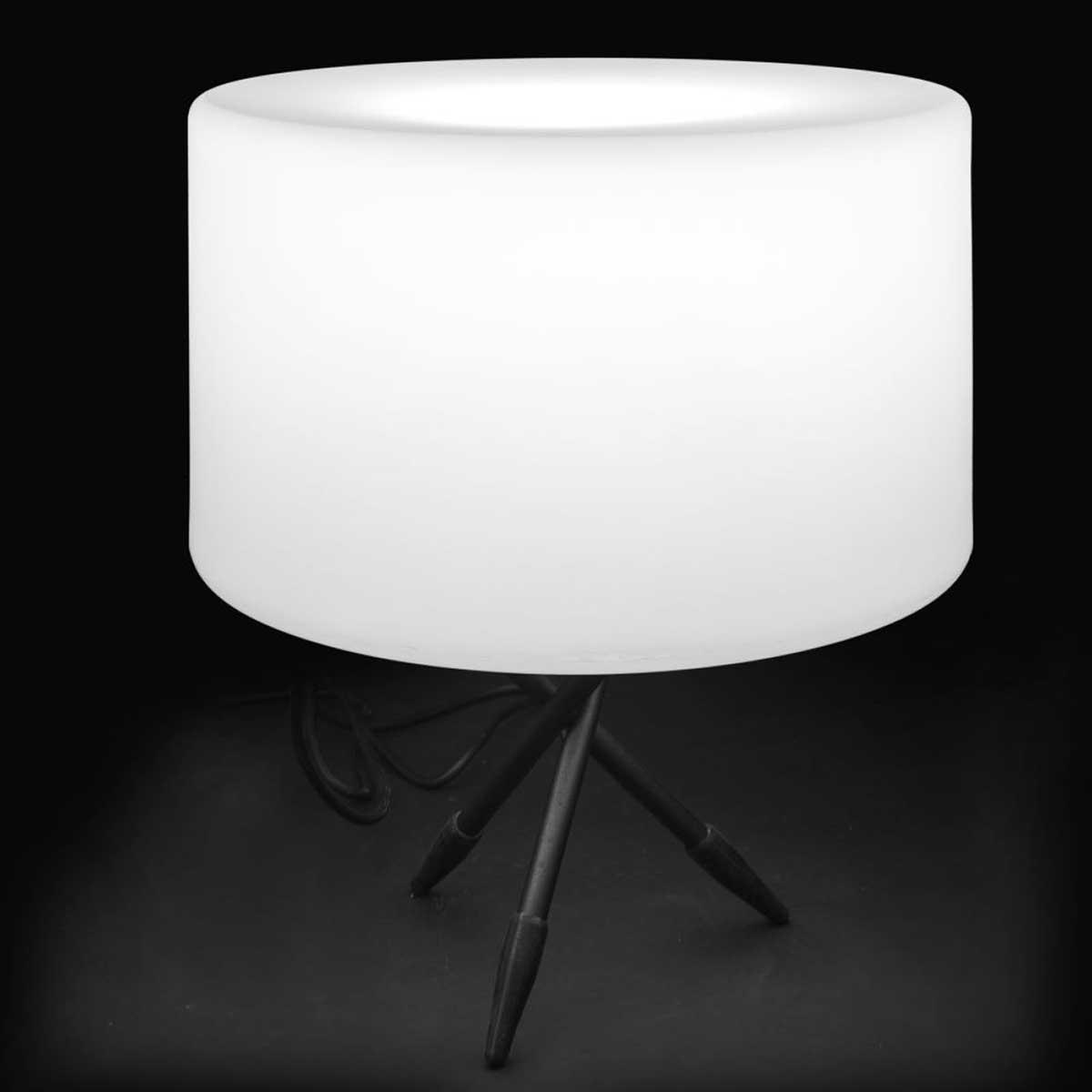 Lampe de table ronde d'extérieur - Banc - 40.00 cm x 40.00 cm x 50.00 cm
