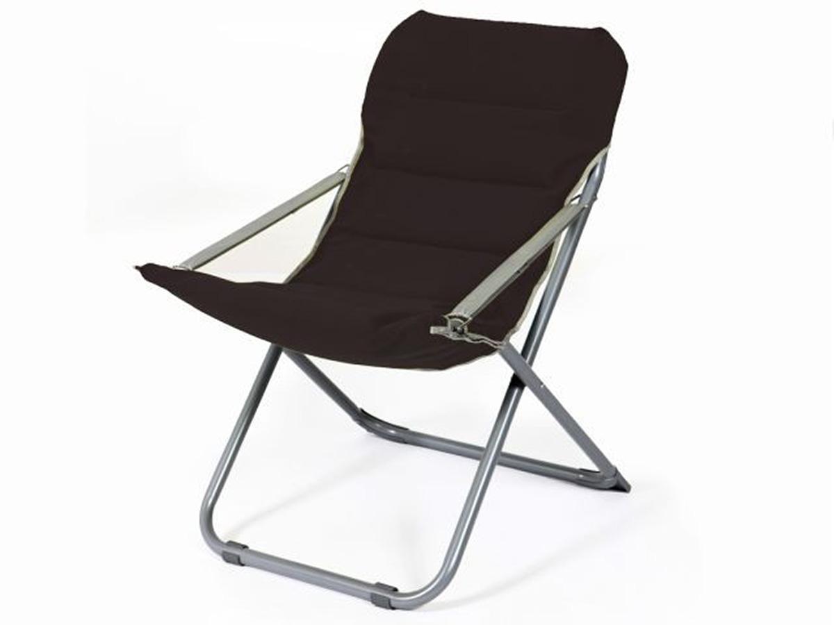 Lot de 2 chaises pliables en toile de bâche - Noir - 65.00 cm x 75.00 cm x 88.00 cm