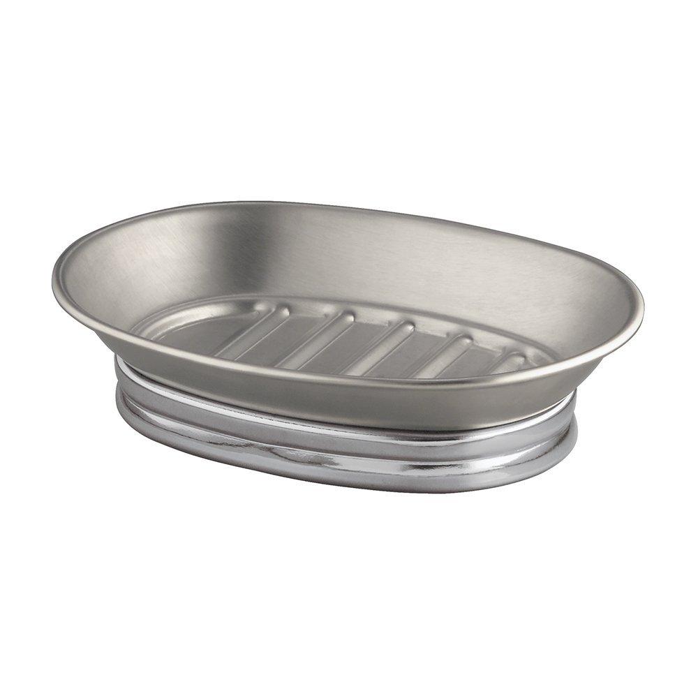Porte savon ovale york en inox homebain vente en ligne for Accessoire salle de bain porte savon