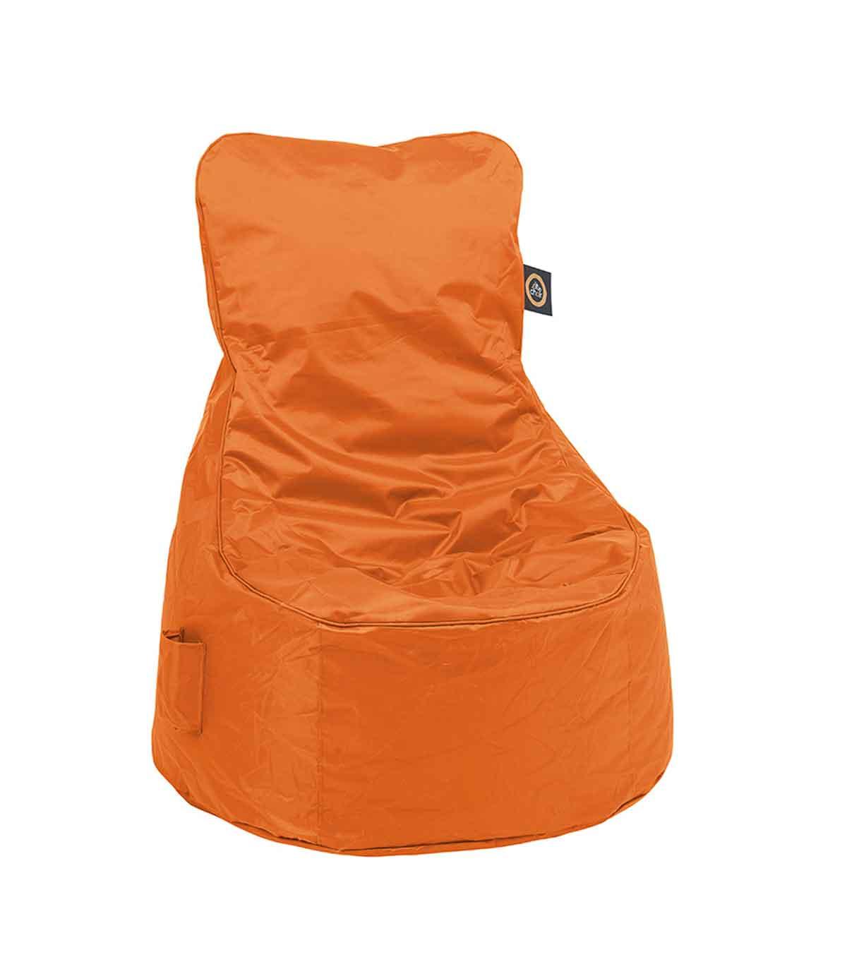 Chaise Gonflable Confort - Orange - 60 x 90 x 90 cm