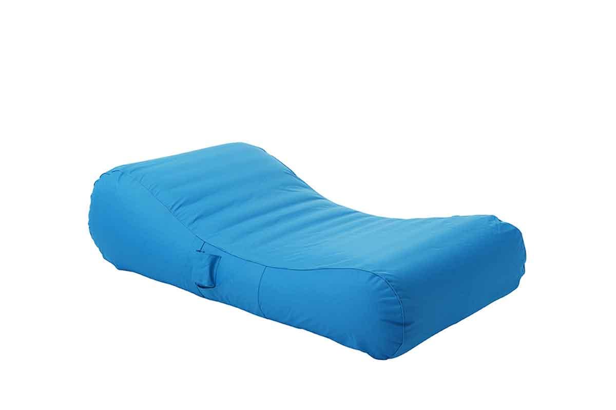 housse pour chaise longue gonflable et flottante turquoise vert anis gris fonc. Black Bedroom Furniture Sets. Home Design Ideas