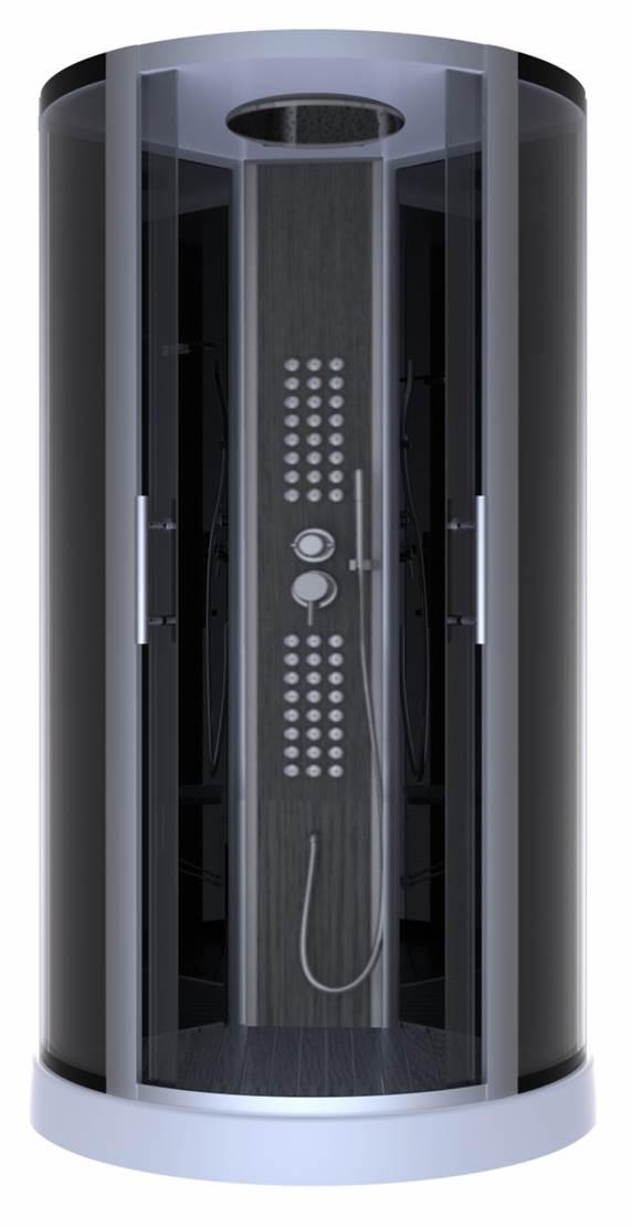 cabine de douche sky fall bois homebain vente en ligne cabines de douche. Black Bedroom Furniture Sets. Home Design Ideas