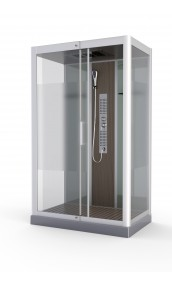 Cabine de douche 'Fuzzy Rectangle'